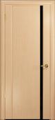 дверь Спациа-1 ДО Белёный дуб чёрный Триплекс