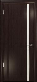 дверь Спациа-1 ДО Эвкалипт вставка  белый триплекс
