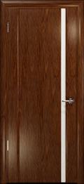 дверь Спациа-1 ДО Сукупира с вставкой из стекла белый триплекс