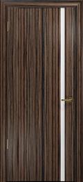 дверь Спациа-1 ДО Эбен с вставкой белый триплекс