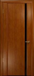 дверь Спациа-1 ДО Темный анегри, черный триплекс