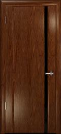 дверь Спациа-1 ДО Сукупира с вставкой из стекла черный триплекс