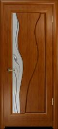 дверь Нобилта ДО Темный анегри, стекло с фарцетами