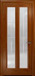 дверь Эсиль-2 ДО Темный анегри с гравировкой