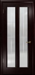 дверь Эсиль-2 ДО Венге с гравировкой