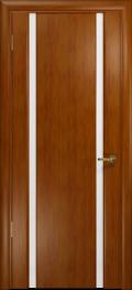 дверь Спациа-2 ДО Темный анегри, стекло белый Триплекс