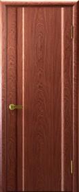 Ульяновские двери Техно ДГ Красное дерево