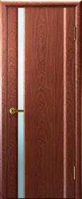 Ульяновские двери Техно1 ДО Красное дерево