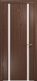 дверь Спациа-2 ДО Американский орех с белым триплексом