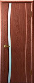 Ульяновские двери Диадема1 ДО Красное дерево