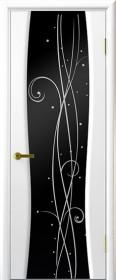 дверь Диамант 2 ДО Белый ясень