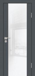 P-7 Агат Графит,белоснежный лакобель