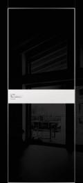 HGX-13 Черный глянец, Белый металик