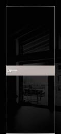 HGX-13 Черный глянец, Латте металик