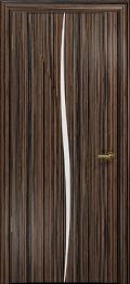 дверь Спациа-лепесток ДО Эбен белый Триплекс