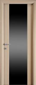 Дверь Стелла Беленый Дуб ДО1 ЧС