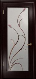 дверь Лютэа-Р ДО Венге с фьюзингами