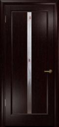 дверь Лютэа-L ДО Венге с Вставкой