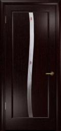 дверь Лютэа–S ДО Венге с вставкой фьюзинг