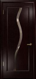 дверь Лютэа–Z ДО Венге вставка Витраж