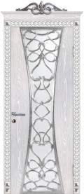 дверь Вероко 1 ДО Серебро