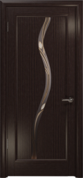дверь Лютэа–Z ДО Эвкалипт стекло Витраж